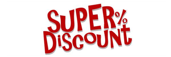 Super % Discount