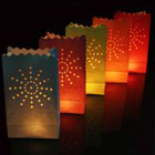 Candle Bags mix colour