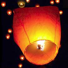 Eco Chinese Sky Lanterns