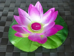 Lilla lotus flower floating lanterns
