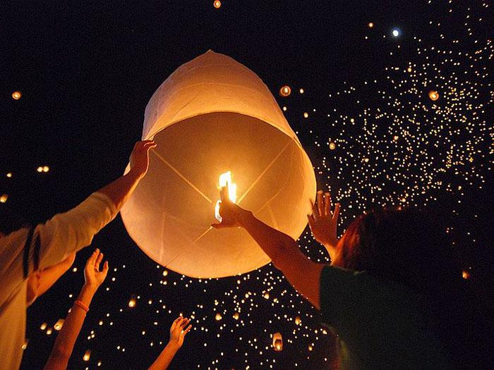 Sky Lanterns Chinese 2