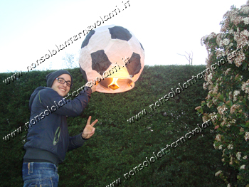Lanterna volante pallone