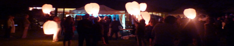 Eco Sky Lanterns Party