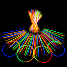Glow Sticks with mixed colour